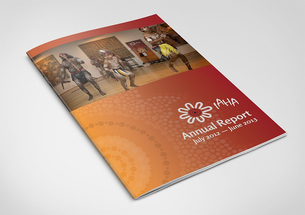 IAHA Annual Report Cover