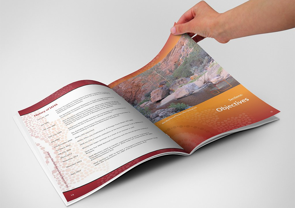 IAHA Annual Report Spread