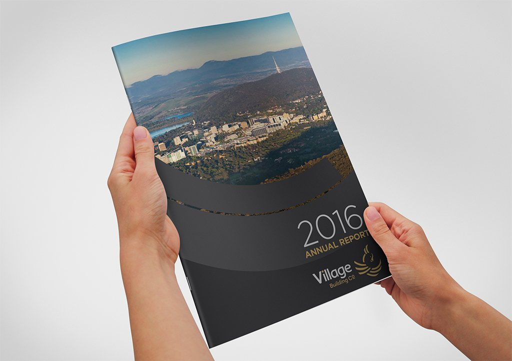 Village Building Co Annual Report Cover